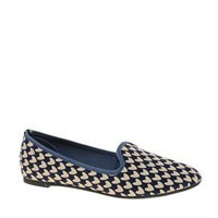ASOS LEON Slipper Shoes with Heart Print at asos.com