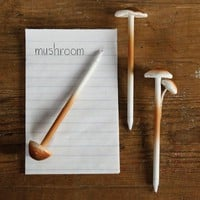 Mushroom Pens Assorted 12 Pack