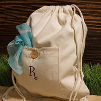 Personalized Organic Cotton Backpack