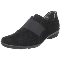Aquatalia by Marvin K. Women`s Willu Sneaker,Black Suede,8.5 B US