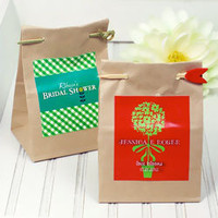 Eco-Friendly Personalized Seed Packet Wedding Favors