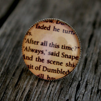 Harry Potter Snape quote - adjustable ring