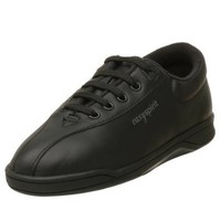 Easy Spirit Women`s AP1 Sport Lace UP, Black Leather, 11 M