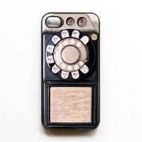 Payphone iphone 4 Case - Black. Cases for iphone 4