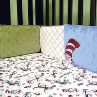 Trend Lab 30021 Dr. Seuss Cat In The Hat - Crib Bumpers
