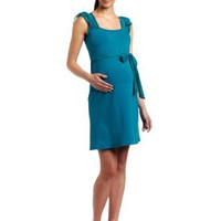 Jules & Jim Women`s Maternity Fashion Short Sleeve Dress