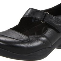 Clarks Women`s In-Motion Flex Mary Jane,Black,8 M US