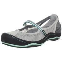 Jambu Women`s Eclipse-Mesh Flat,Grey/Glass,7.5 M US