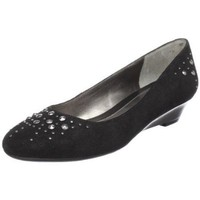 Bandolino Women`s Emalita Slip-On Wedge,Black,7.5 M US