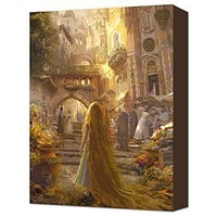 ''Beautiful Morning'' Tangled Rapunzel Gallery Wrapped Canvas | Giclees | Disney Store
