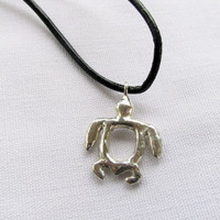 Baby Turtle in sterling silver