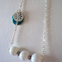 Sand Dollar Beach Necklace
