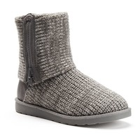 Women's Fold-Down Sweater Boots