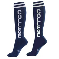 College Unisex Athletic Socks - Ships 10/2