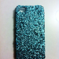 Turquoise Glitter IPhone 4 4s Hard .. on Luulla