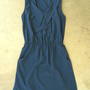 Cascading Ruffles Dress in Navy [2803] - $30.60 : Vintage Inspired Clothing &amp; Affordable Summer Dresses, deloom | Modern. Vintage. Crafted.