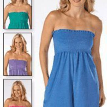 Terry Romper - Women`s Sizes