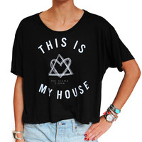 Phi Sigma Sigma This is My House Tee