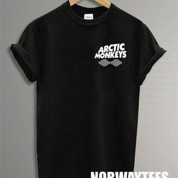 Arctic Monkeys Shirt The Small Symbol Printed on Black and White t-Shirt For Men Or Women Size TS 93