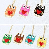 Cute Owl Fashion Necklace  | LilyFair Jewelry