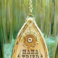 Mama Tried Bullet Necklace, Mama Tried Necklace, Bullet Necklace, Bullet Jewelry