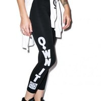 Civil Clothing Own It Mesh Leggings Black