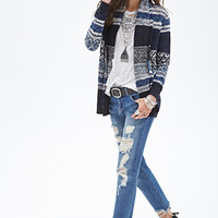 Abstract Pattern Cardigan