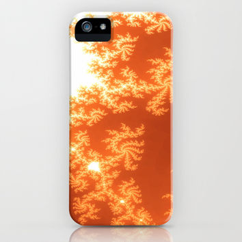 Burning Fractals iPhone & iPod Case by 319media