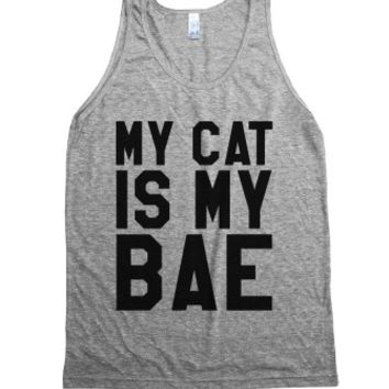 MY CAT IS MY BAE TANK TOP (IDE190315)