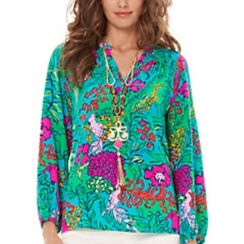 Elsa Top - Shake Your Tailfeather - Lilly Pulitzer