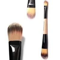 Vegan Friendly Works With Creams Powders Liquids And Mineral Makeup Synthetic Dense Bristles Do Not Shed Quality Compares to Brand Names --- Perfect Liquid Foundation Brush Cosmetics Brush Set From Doubtless Bay