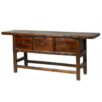 Vintage Chinese Butcher's Table | Console Tables & Buffets | Wisteria