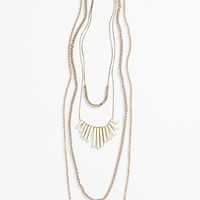 BP. Bar Charm Layering Necklace (Juniors) | Nordstrom
