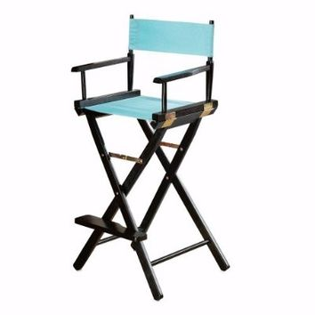 "Directors Chair Tall Frame / Bar Stool Frame, 30""H, BLACK"