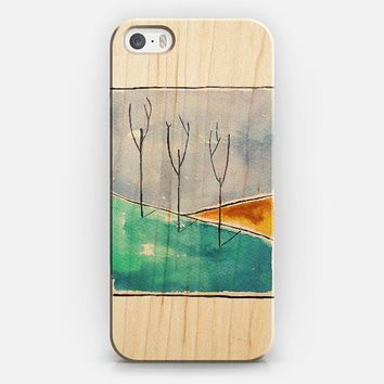 Only the Trees (transparent) iPhone 5s case by Timone | Casetify