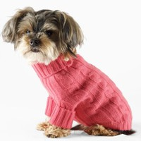 Cabled Cashmere Dog Turtleneck - For the Pup   Home - RalphLauren.com
