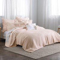DKNYpure Pure Indulge Duvet Cover in Pale Pink