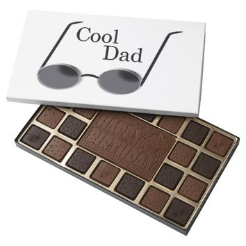 Cool Dad Birthday Box of Chocolate