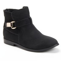 sugar Black Mable Womenâ s Ankle Boots