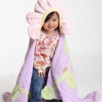 little blossom flower hooded towel at ShopRuche.com
