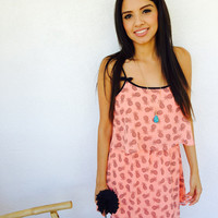 Lindsey Pineapple Dress from shopoceansoul