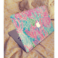 "Lilly Pulitzer Inspired Macbook Air 13"" Skin"