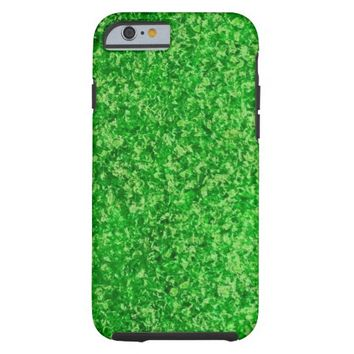 Emerald Green Crushed Glass iPhone 6 case