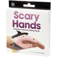 Scary Hands Temporary Tattoos for Talking Hands - Whimsical & Unique Gift Ideas for the Coolest Gift Givers