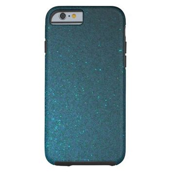 Midnight Blue Sparkle iPhone 6 case