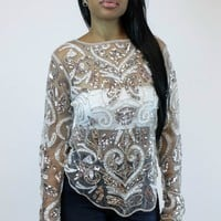 Double Take Sequins Top | Endless Rose