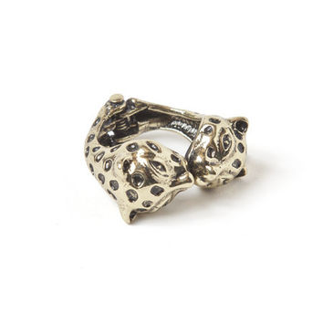 Kissing Leopard Ring | HOTTT.COM