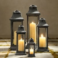 Savoy Square Lanterns | Lanterns | Restoration Hardware