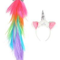Unicorn Horn And Tail Kit