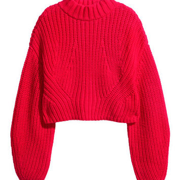 H&M Cropped Sweater $49.95